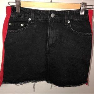 NWOT Carmar Denim Skirt